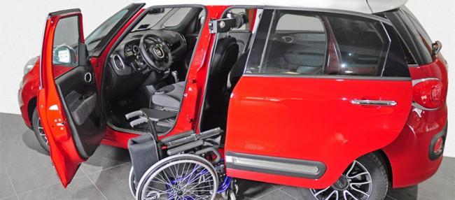 Treuil chargeur de fauteuil KIVI am�nagement de transfert Handi Equipement